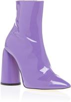 Ellery Patent High Heel Bootie