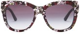 Dolce & Gabbana Women's DNA Retro Acetate Frame Sunglasses