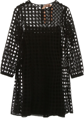 N°21 N.21 Perforated Mini Dress
