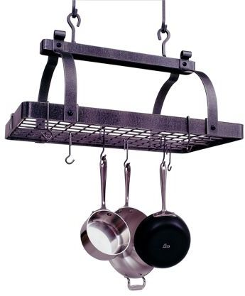 Enclume Classic Rectangle Pot Rack with Grid