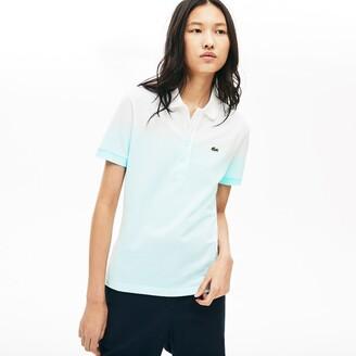 Lacoste Women's Made in France Organic Cotton Pique Polo Shirt