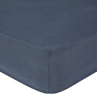 Croft Collection 100% Linen Fitted Sheet
