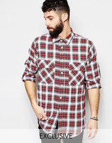 Reclaimed Vintage Checked Over Shirt
