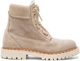 Balmain Suede Taiga Boots