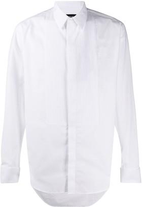Giorgio Armani Pleated-Bib Formal Shirt
