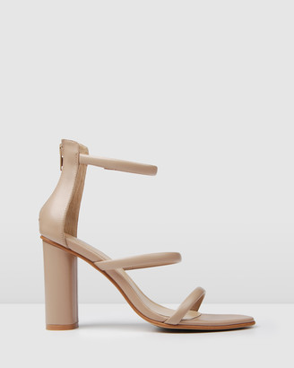 Jo Mercer - Women's Neutrals Strappy sandals - Phoenix High Heels - Size One Size, 37 at The Iconic
