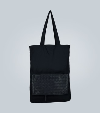 Bottega Veneta Packaway intrecciato panel tote