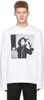 Raf Simons White Robert Mapplethorpe Edition Patti Smith Pullover