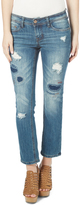 Dollhouse Chloe Distressed Straight-Leg Jeans