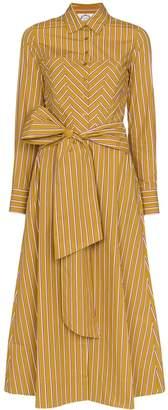 Evi Grintela Nicole striped shirt dress