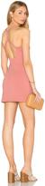 "Susana Monaco Open Back Bodycon 16"" Dress"