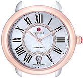 Michele Women's MW21B00L4963 Serein 16 Analog Display Swiss Quartz Two Tone Watch Head