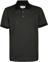 Salvatore Ferragamo Logo Pattern Polo Shirt
