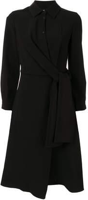 PortsPURE asymmetric shirt midi dress
