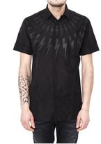 "Neil Barrett lightning Bolt"" Shirt"