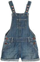 American Outfitters Light Cotton Denim Short Overalls
