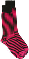 Haider Ackermann striped socks - men - Silk - S/M