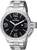 TW Steel Men's CB6 Analog Display Quartz Silver Watch