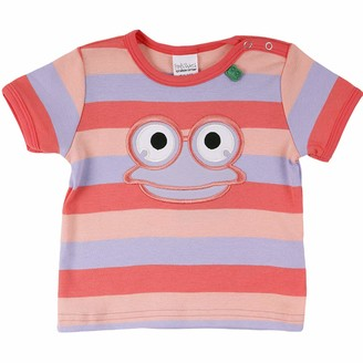 Green Cotton Fred's World by Baby Girls' Hello Fred S/s T Shirt