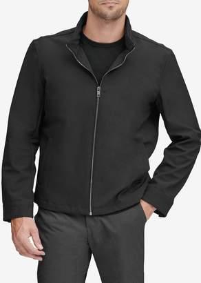 Andrew Marc Finn Bonded Jersey Jacket