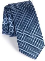 The Tie Bar Men's Aerial Geo Silk Tie