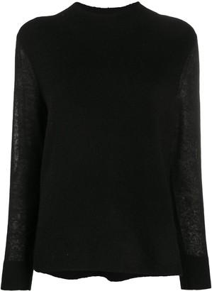 Calvin Klein Long-Sleeved Mock Neck Jumper