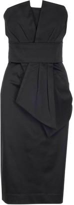 P.A.R.O.S.H. Strapless Midi Dress