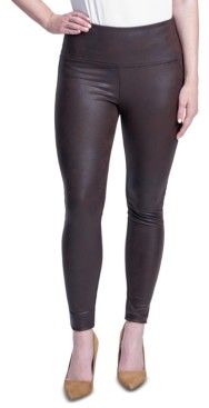 Seven7 High-Rise Sculpting Coated Leggings