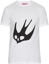 McQ by Alexander McQueen Swallow-print cotton T-shirt