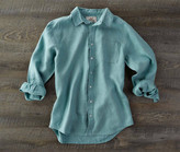Madda Fella The Ernest Linen Shirt - Marlin Blue