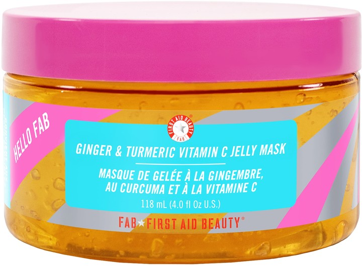 First Aid Beauty Hello FAB Ginger and Turmeric Vitamin C Jelly Mask的圖片搜尋結果
