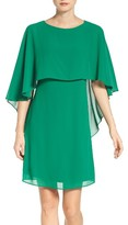 Vince Camuto Women's Cape Overlay Dress
