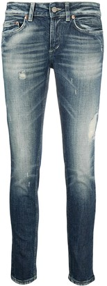 Dondup Low-Rise Slim Fit Jeans