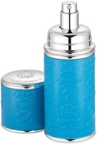 Creed Logo Etched Leather Atomizer, Silver/Blue