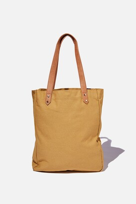 Rubi Olive Carryall Tote Bag