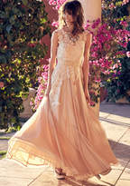 Memorable Magic Maxi Dress in Tea in M - Sleeveless Twofer by ModCloth
