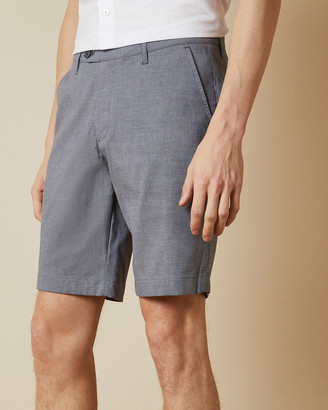 Ted Baker CORTO Semi plain cotton shorts