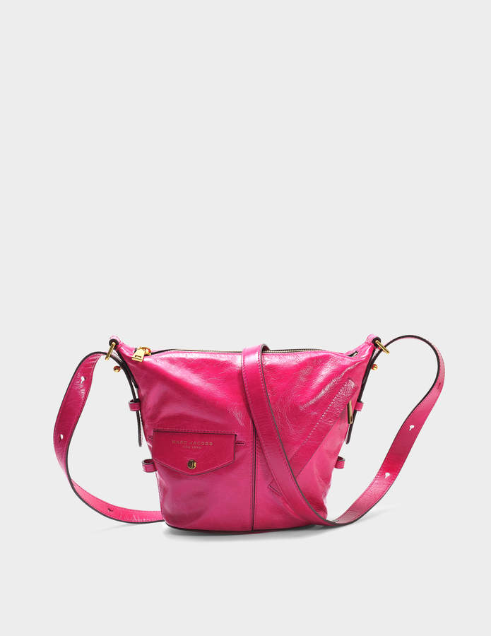 Marc Jacobs The Mini Sling Bag in Hydrangea Cow Leather