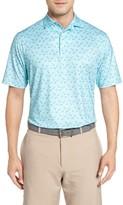 Peter Millar Men's Pointer Mini Dot Golf Polo