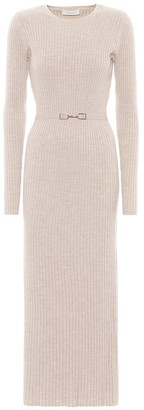Gabriela Hearst Exclusive to Mytheresa Luisa wool and cashmere dress