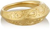 Aurelie Bidermann Apache gold-plated ring