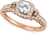 LeVian Le Vian® Bridal Diamond Engagement Ring (3/4 ct. t.w.) in 14k Rose Gold