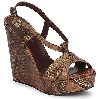 Stephane Kelian CAMERON women's Sandals in Gold