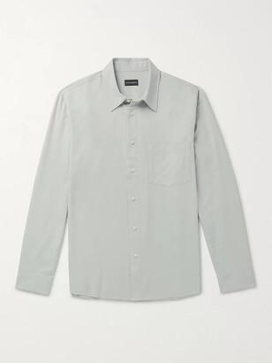 Club Monaco Tencel And Cotton-Blend Twill Shirt