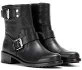 Calvin Klein Jeans Mytheresa.com Exclusive Embellished Leather Ankle Boots