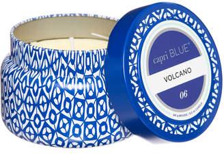 Capri Blue Volcano Printed Tin Candle Blue 1 Size