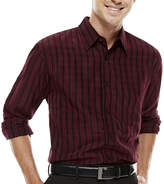 Haggar Long-Sleeve Microfiber Shirt