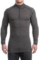 Ibex Woolies 1 Base Layer Zip Turtleneck - Merino Wool, Long Sleeve (For Men)