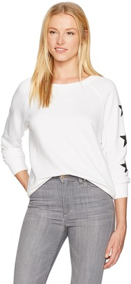 David Lerner Women's Star Raglan Pullover