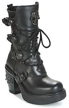 New Rock BILLYS women's Low Ankle Boots in Black